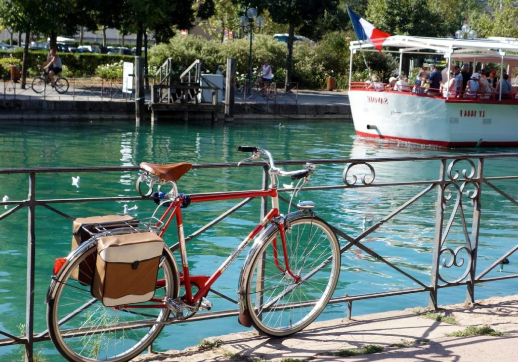 Bicyclette à Annecy