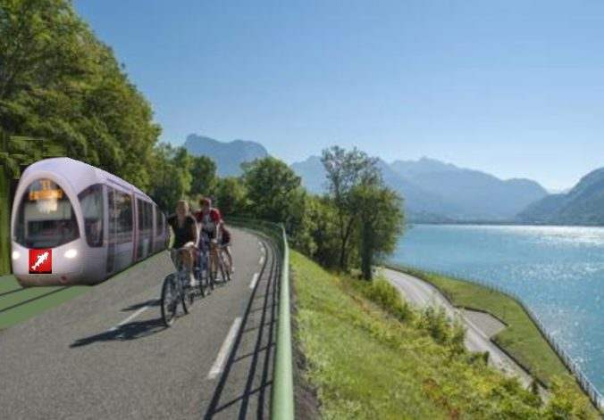 Tram Train Annecy Alberville
